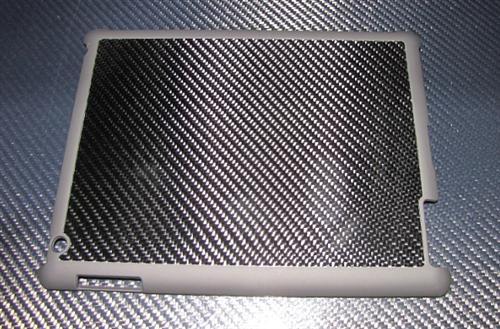 Passend für Apple IPAD 2/3/4  I-PAD Echt Carbon Luxus Schutzhülle Case Smart Cover Opt.