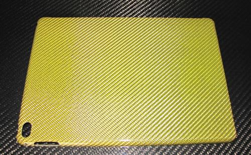 Für Apple IPAD AIR2 IPADAIR2 GOLD Carbon Luxus Schutzhülle Case Smart Cover