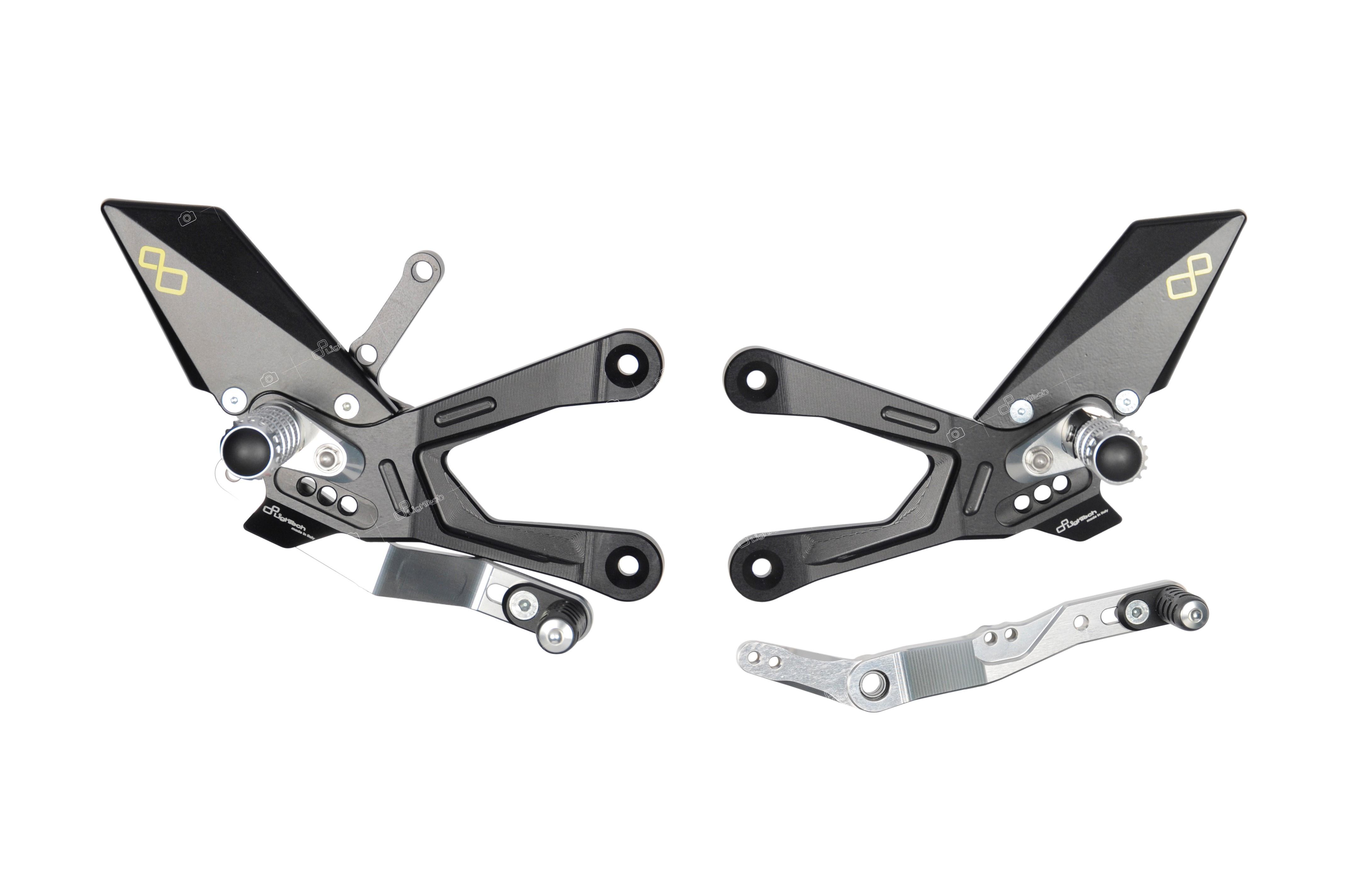 Lightech Passend für Yamaha R1  R1 M  2015-20 Fussrastenanlage klappbaren Rasten