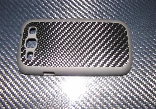 Für Samsung Galaxy S3 Echt Carbon Luxus Schutzhülle Cover Case