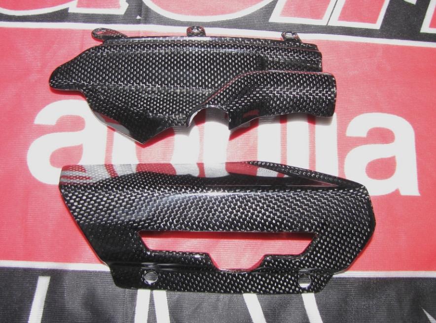 Für Aprilia 750 Facelift Shiver ABS MH Carbon Fein Rahmen Ketten Schwinge Schu