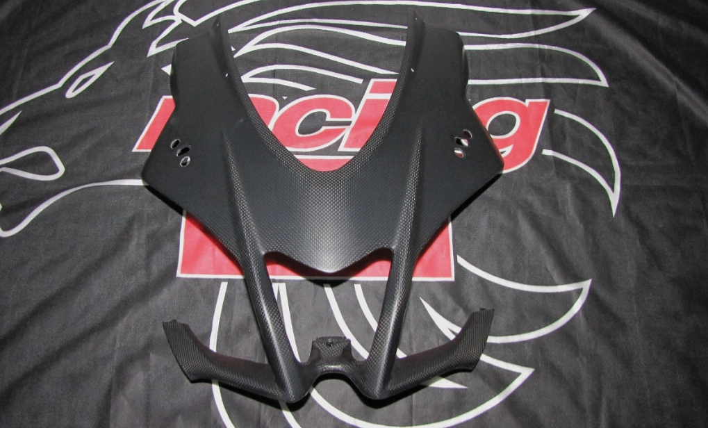 Passend für Aprilia RSV4 1000 APRC RR RF Carbon fein matt Kanzel Maske