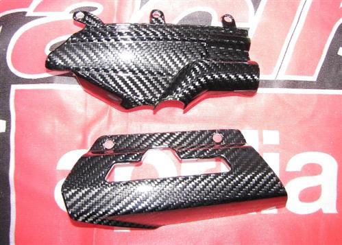 Für Aprilia SL 750 ab2011 Facelift Shiver ABS Carbon Rahmen Ketten Schwinge Schu