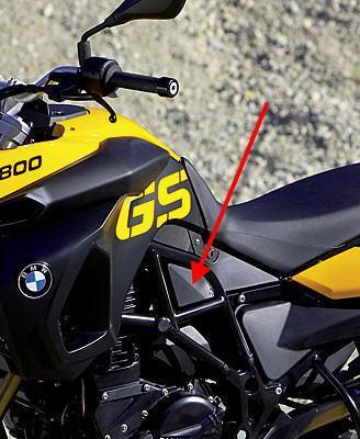 Passend für BMW F800GS Carbon Seiten Teile Verkleidung F800 GS F650