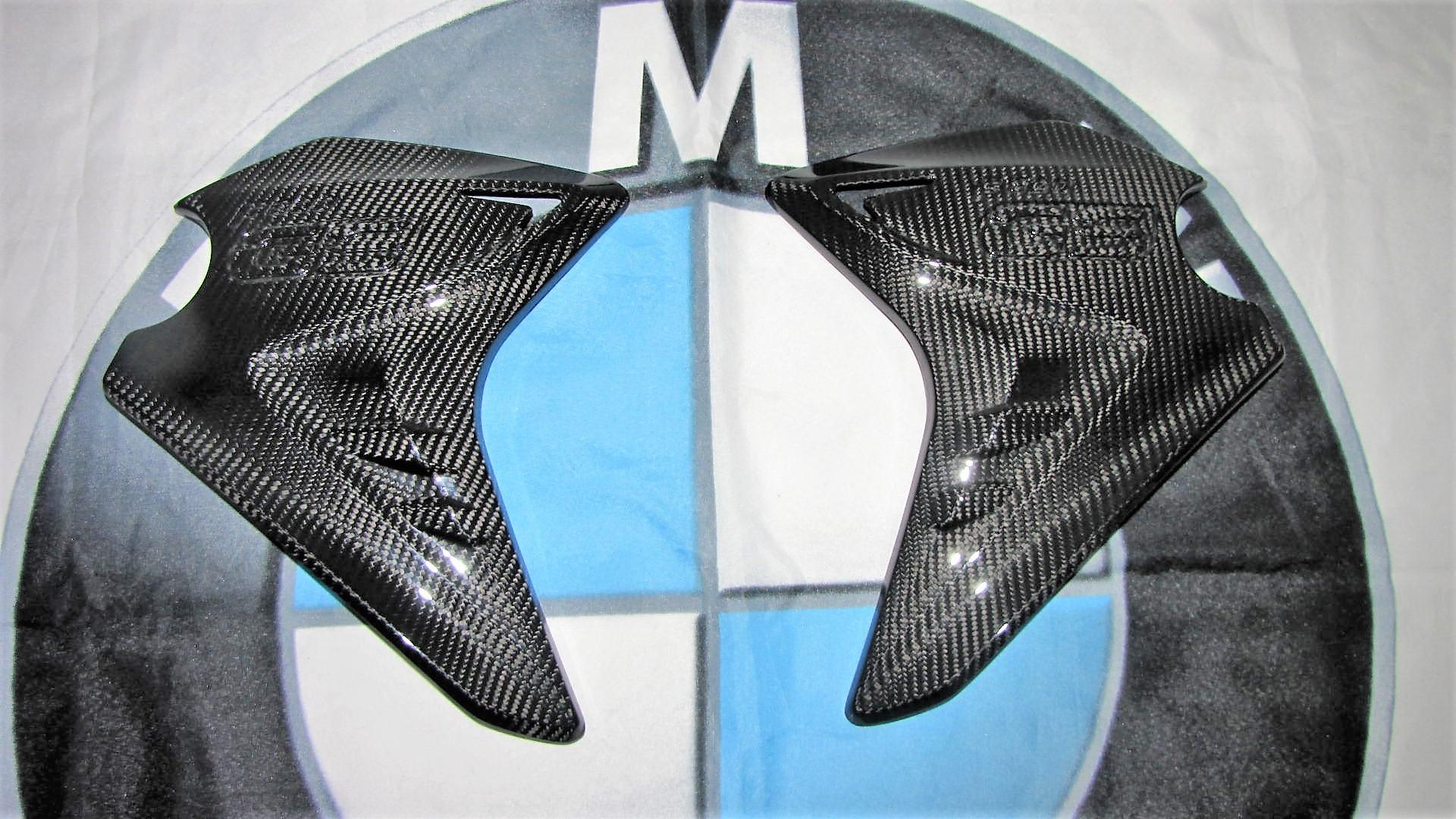 Für BMW F800GS 2013 Facelift Echt Carbon Tank Seitenteile Verkleidung