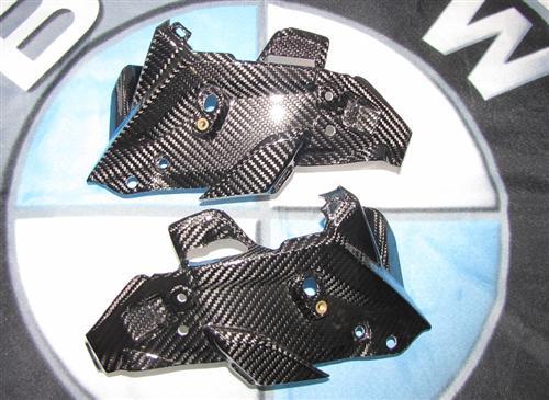 Passend für BMW F 800 R Carbon Rahmen Scheinwerfer und Blinker F800R ab2