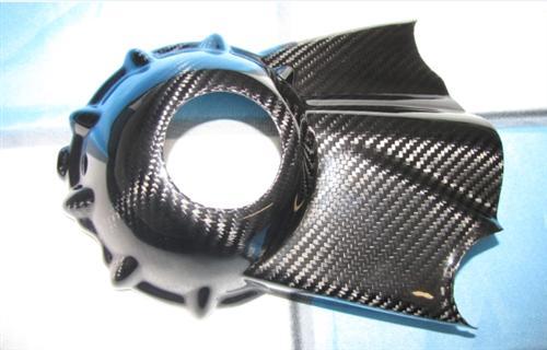 Passend für BMW HP2 Sport Enduro GS 1200 Carbon Kardan Abdeckung R Nine
