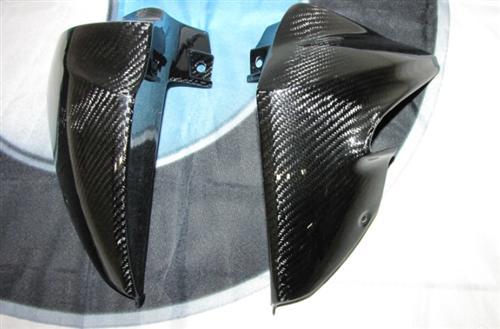 Für BMW K1200R Carbon Kühler Kühlerverkleidung ob. K 1200 R