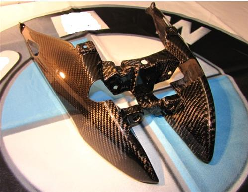 Für BMW K1200R Echt Carbon Heck Heckteil  K 1200 R K1300R