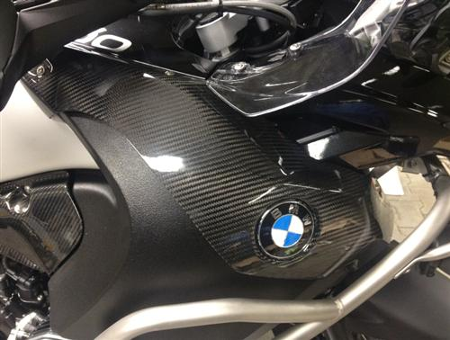 Passend für BMW R 1200 GS R 1200 Adventure Carbon Seiten Verkleidung Tan