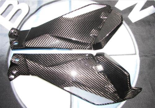 Für BMW R1200 GS R GS1200 LC Echt Carbon Seitenverkleidung unter Tank 2013