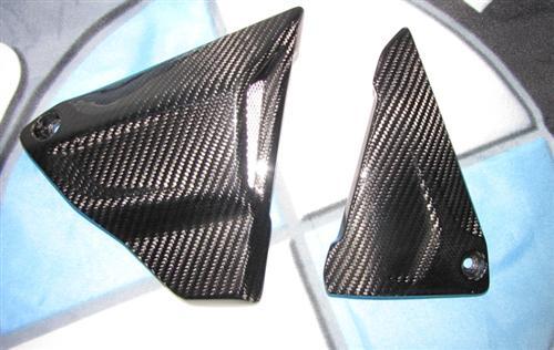 Für BMW R1200 GS R GS1200 LC Echt Carbon Seitenverkleidung unter Sitz 2013