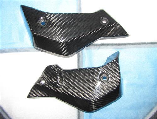 Für BMW R1200R R 1200 R ab 2015 Echt Carbon Kühler Verkleidung