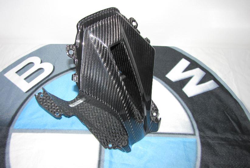 Für BMW R1200RS R 1200 RS 2015 Echt Carbon RAM AIR Luftführung MITTE
