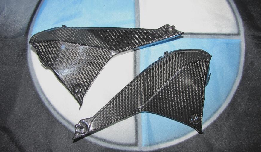 Für BMW R1200RS R 1200 RS 2015 Echt Carbon Cockpit Abdeckung