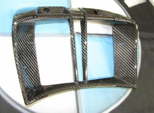 Für BMW R1200R R 1200 R Echt Carbon Bug Verkleidung Ölkühlerverkleidung