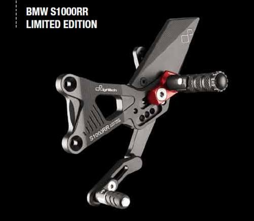 Lightech Für BMW S1000RR S 1000 RR Fussrastenanlage RevS. starre Fußrasten