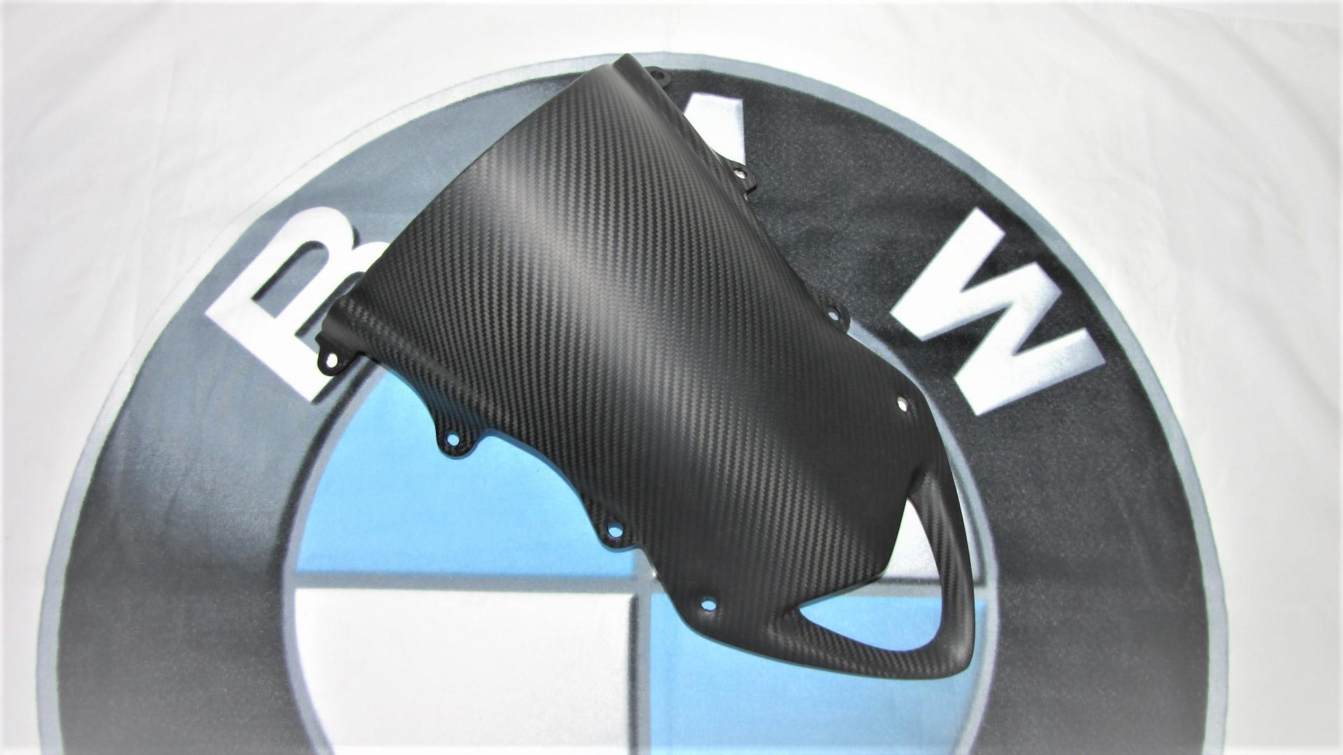 Passend für BMW S 1000 RR Carbon Matt Verkleidungsscheibe S1000RR