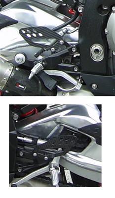 Passend für BMW S 1000 RR Carbon Fersenschützer Fersenschutz S1000RR Fac