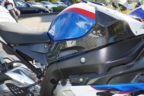 Passend für BMW S 1000 RR Carbon Tank Seitenteile  S1000RR NEU
