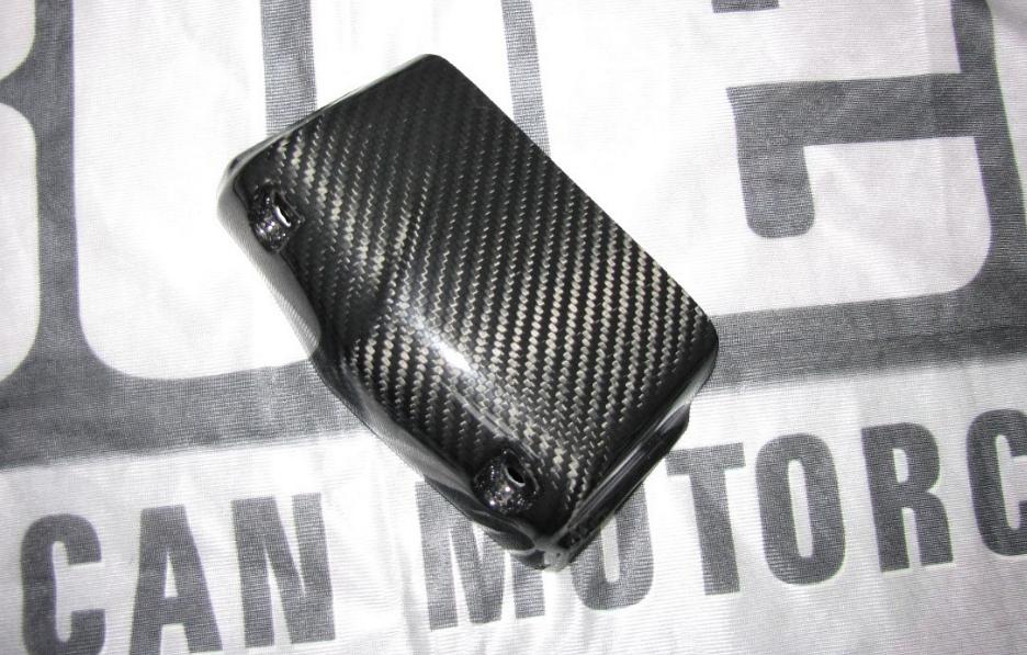Passend für Buell XB9S XB9S XB9R Firebolt  Carbon ÖL Kühler Cover