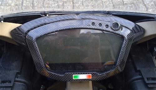 Passend für Ducati 1098 1198 R S 848 Carbon Tacho Cockpit Abdeckung