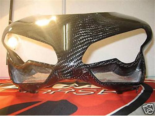 Passend für Ducati 1098 848 Verkleidung Echt Carbon Kanzel Front **