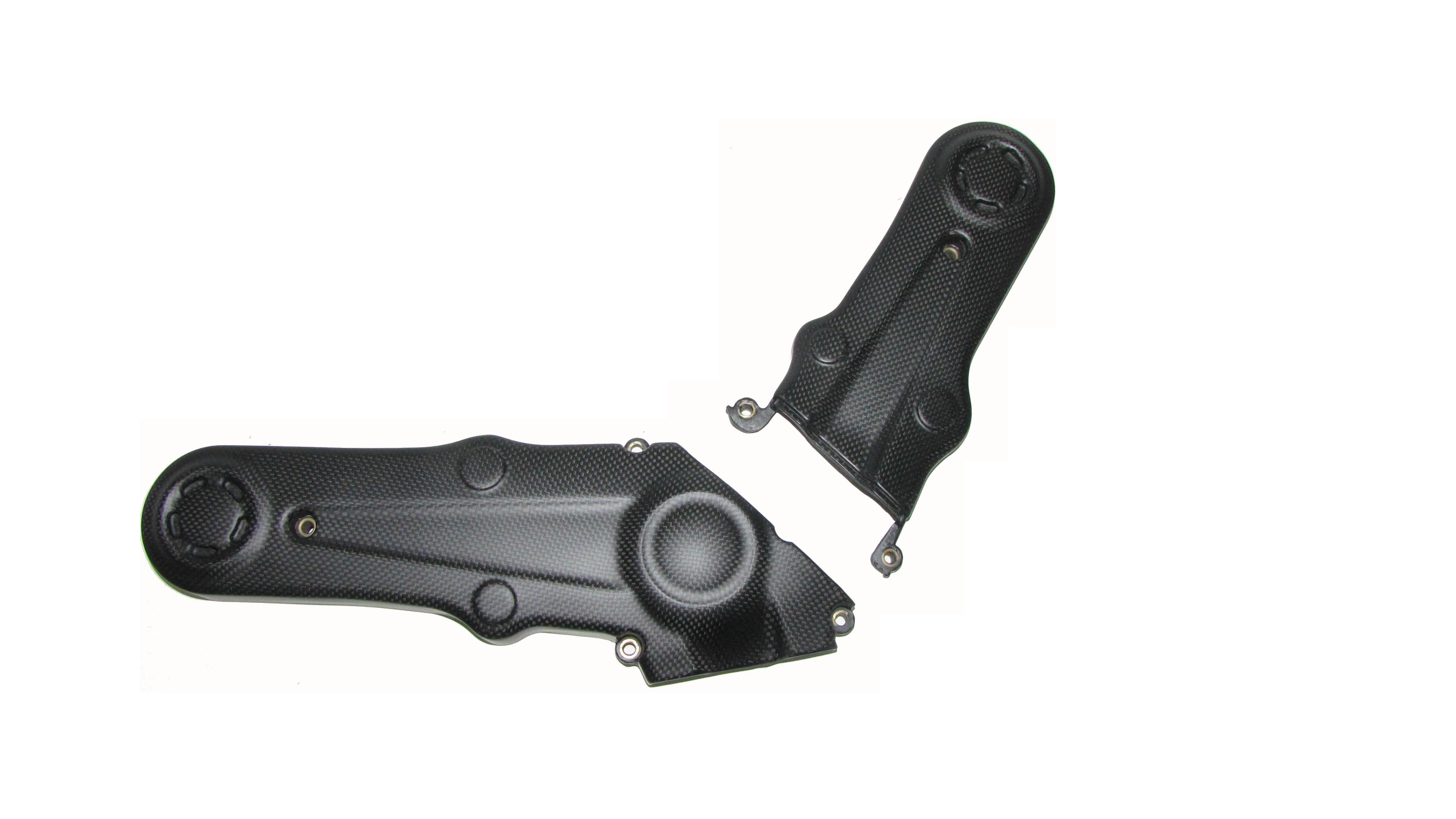 Passend für Ducati 1100 EVO ab12 Carbon fein matt Zahnriemenabdeckung Monster