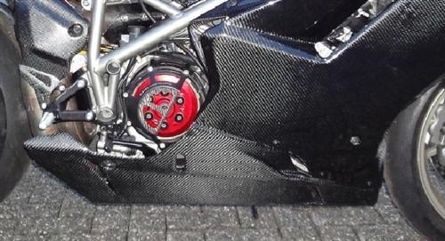 Ducati 1098  S 848 Carbon Verkleidung Bug Verkleidung