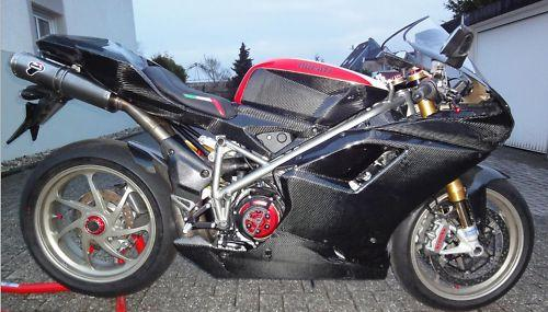 Passend für Ducati 1098  S 848 Carbon Verkleidung Seitenverkleidung