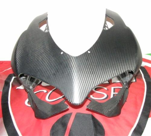 Passend für Ducati 1199 Panigale Verkleidung Echt Carbon Matt Kanzel Front **