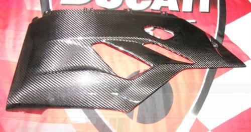 Passend für Ducati 1199 Panigale BUG Verkleidung Echt Carbon