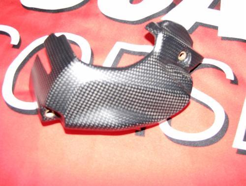 Passend für Ducati 1199 Panigale Echt Carbon Fein Matt Ritzel Ritzelabdeckung