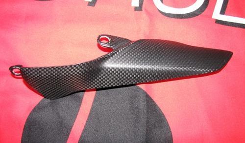Passend für Ducati 1199 Panigale Echt Carbon Fein Matt Kettenschutz Kette Schutz