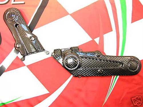 Passend für Ducati 696 796 1100 EVO 2008 09 10 Carbon cam belt Zahnriemenabdecku