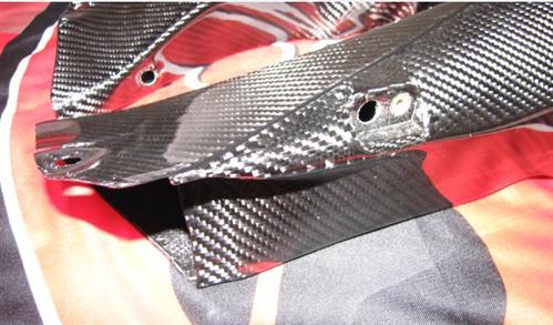 Für Ducati Carbon  748 916 996-998 RAM AIR Kanäle Fein
