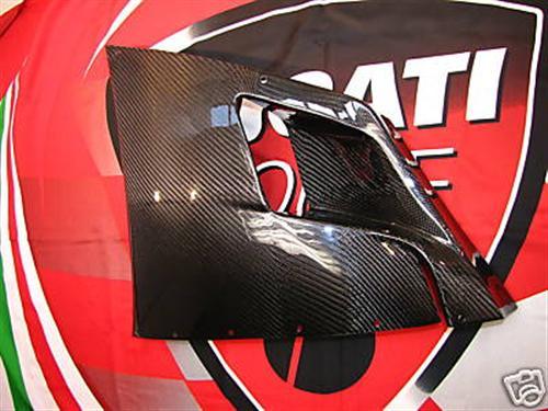 Carbon Ducati 748-916-996-998 Seiten Verkleidung mitte