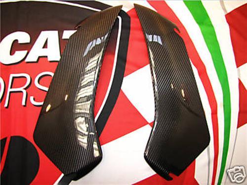 Passend für Ducati 749-999  Carbon Seiten Flügel Verkleidung
