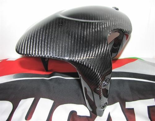 Echt Carbon Ducati Diavel 2011 Kotflügel Fender Schutzblech