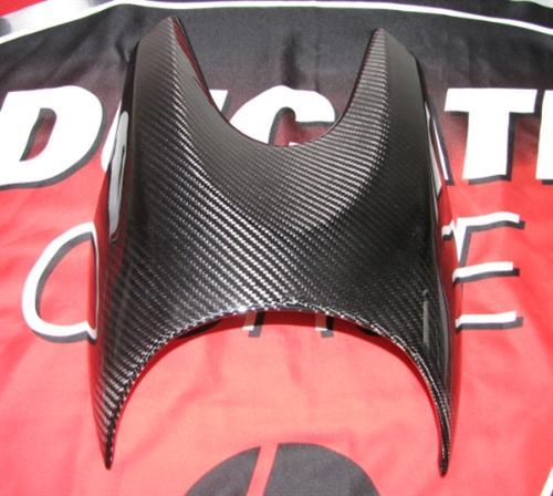 Echt Carbon Ducati Diavel 2011 Kanzel Lampe Verkleidung
