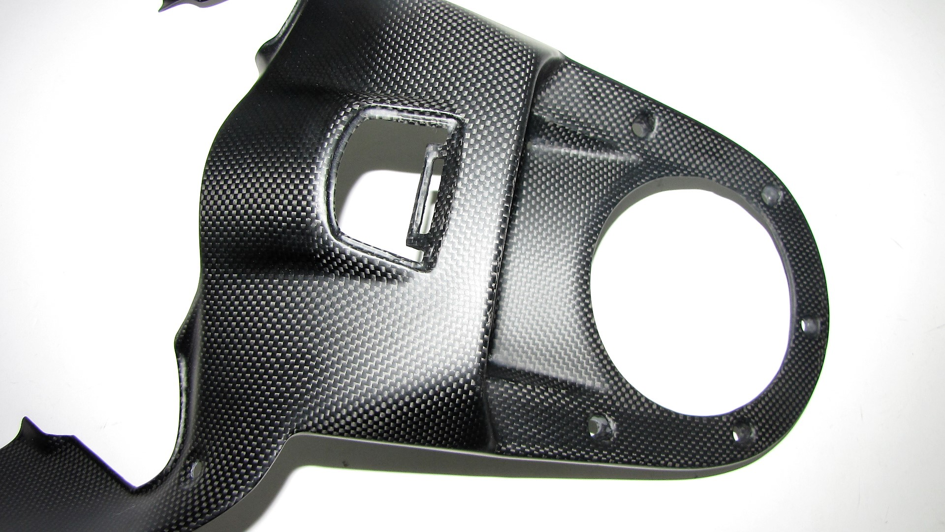 Echt Carbon fein matt Passend für Ducati Diavel 2011 Tank Abdeckung