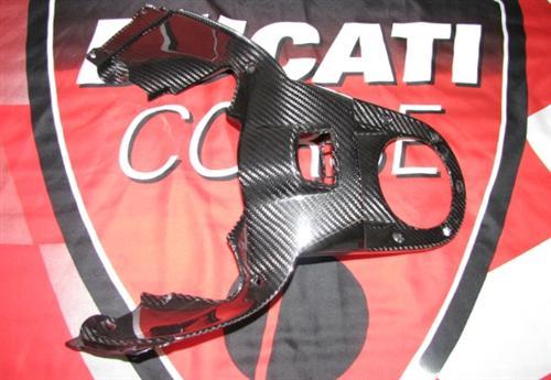 Passend für Ducati Echt Carbon Diavel 2011 Tankabdeckung Front Abdeckung
