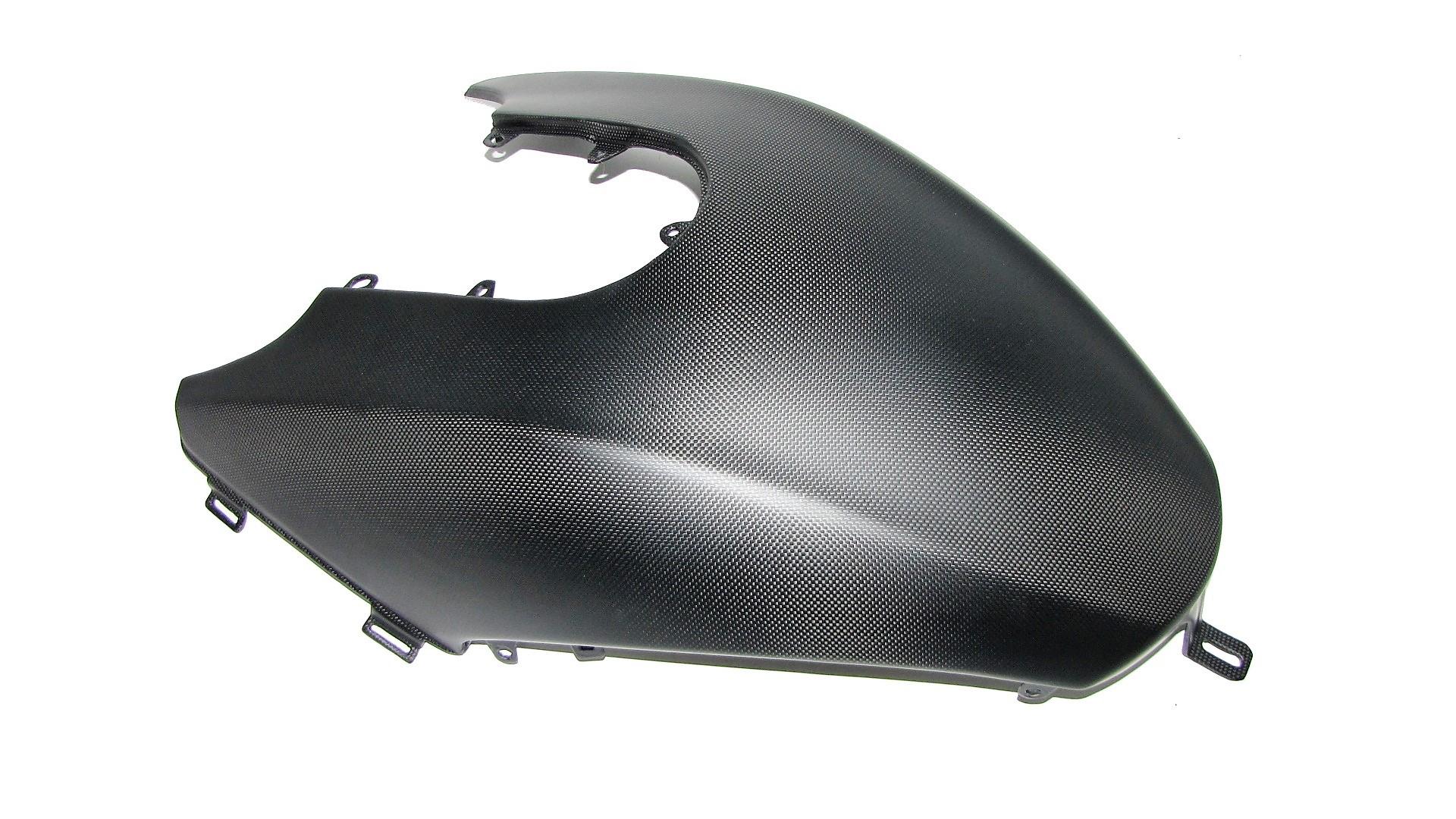 Echt Carbon fein matt Passend für Ducati Diavel 2011 Tank Cover für den Haupttank