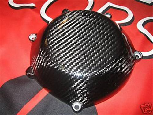 DUCATI ECHT CARBON Kupplungsdeckel Clutch Cover