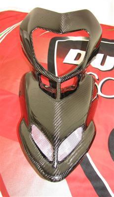 Passend für Ducati Hypermotard ECHT Carbon Kanzel Verkleidung