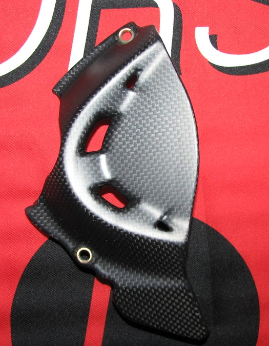Passend für Ducati 1200 Monster ab2014  Echt Carbon fein Matt Ritzel Ritzelabdec
