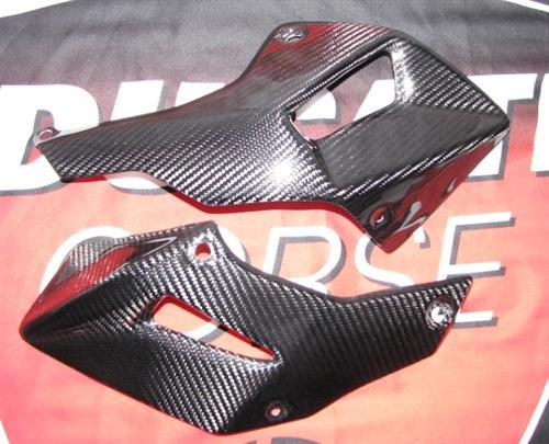 Passend für Ducati Multistrada 1200 Echt Carbon BUG Verkleidung unten