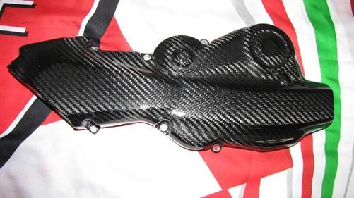 Passend für Ducati Multistrada 1200 Echt Carbon Zahnriemenabdeckung Motor V2