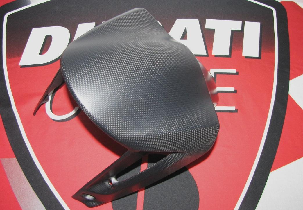 Für Ducati XDiavel X Diavel  Echt MH Carbon fein matt Kotflügel Fender