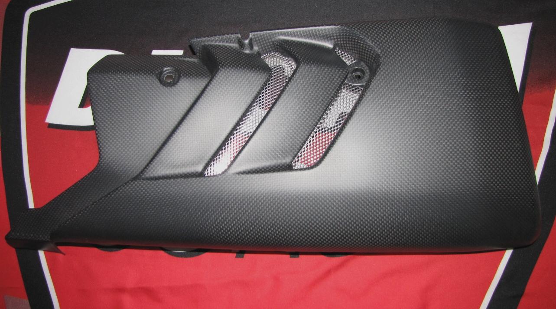 Für Ducati XDiavel Echt MH-Carbon-BUG Seitenteile Verkleidung